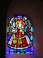 look to stained glas with mother Mary by ingeline-art