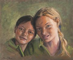 two sisters by marcobusoni
