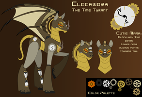 Reference Sheet: Clockwork by Acyrotin