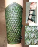 My first bracer by Alyssa-Ravenwood
