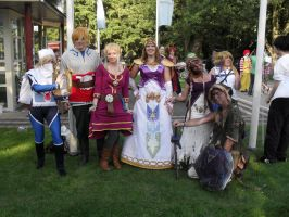 Legend of Zelda group photo by Lizz1cevae