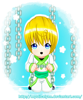 Chibi Kurapika-chains by MysticaLynn
