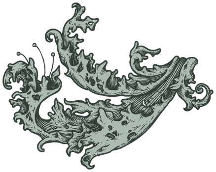 Ornate Pattern (lined) for Ornate Typography Tute by l4dyh4wk