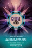 Groove Nation Flyer by styleWish