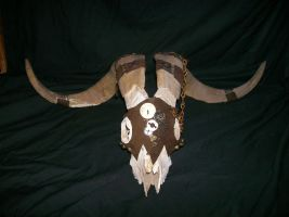 Steam Punk Ram Skull 4 by silent-assassin-XIII