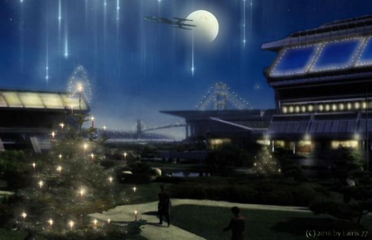 Advent in the Starfleet Headquarters by Lairis77