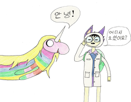 Adventure Time: Korean? by Mind-In-Disarray