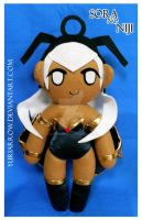 Storm PLUSH (Marvel vs. Capcom 3) by yuriarrow