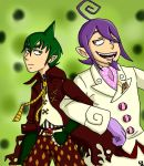 Amaimon and Mephisto by bigtimetransfan27