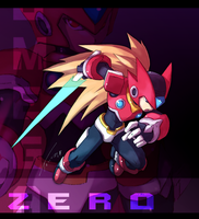 Rockman Zero (Remixed Armor) by Tomycase