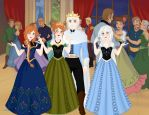 Frost Family of Arendalle by IAmAwesome12345673