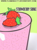 Strawberry Shake by flamable77