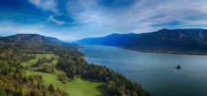 Columbia River Gorge 3 - pano by spazmataz