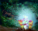 Everfree adventure by chung-sae