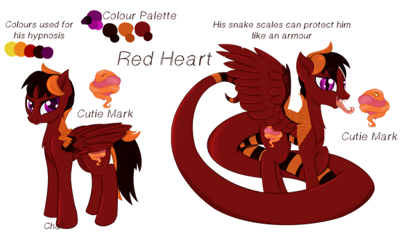 Red Heart by Cha-squared