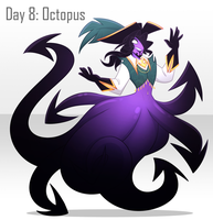 [30 Day Challenge] Day 8: Octopus by frogtax