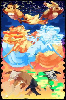 Pokemon Kanto/Alola Print by EmpurrorMooks