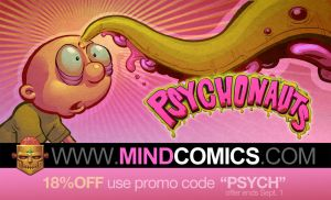 Psychonauts Issue 02: RELEASED! by plaidklaus