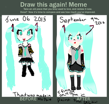 Draw this again Meme by KumoMuffet