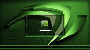 NVIDIA LOGON SCREEN by poweredbyostx