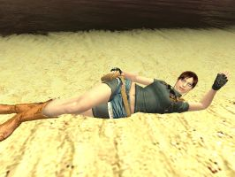Claire at The Beach 1 by AdamArt675