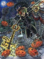 KH: King of the Pumpkin Patch by DragonElfRanger