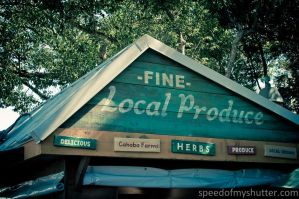 Fine Local Produce by speedofmyshutter