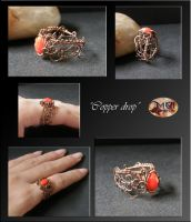 Copper drop- ring by mea00