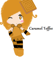 Caramel Toffee-Sugar Rush OC by Lunana-chan