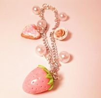 Girly charm bracelet by lovecute