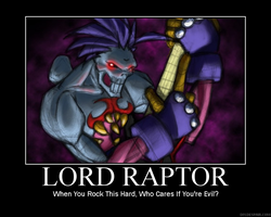 Lord Raptor by louistherogue
