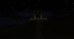 CREEPER TRIBUTE: a statue by wolf117M