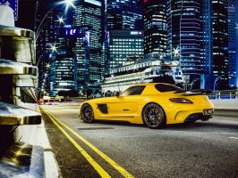 Mercedes-Benz SLS AMG Black Series by Laffonte