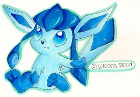 Glaceon by WicansBlood