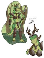 Lizard Druid by paladin095