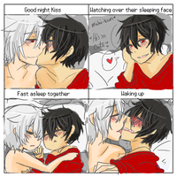 Couples Night Meme Michijack by SolitaryHideAndSeek