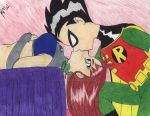 Robin and Starfire by Odango-Usagi-Chan