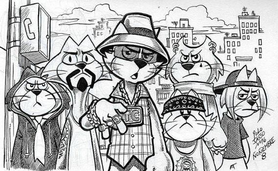 Don Gato y su pandilla de cholos by POLO-JASSO