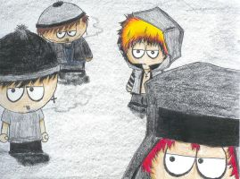 gothic South Park by LilSnowFox