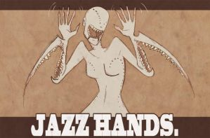 Jazz Hands by Beanjamish