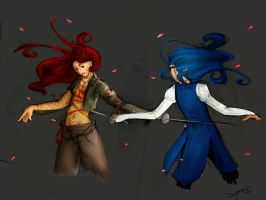Duel by dyzae