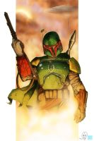 Boba Fett by RecklessHero