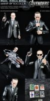 Custom Agent Phil Coulson Action Figure by MintConditionStudios