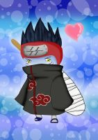 Kisame Chibi by Ruby-The-Ninja