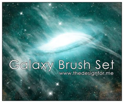 Galaxy Brush Set - Space by thedesignforme