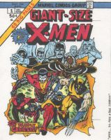 Giant Size X-Men 1 with VIDEO by NGoff