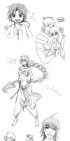Magi lunch break doodles by meteoric-iron