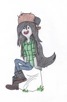 Marceline as Wendy by FireWings26
