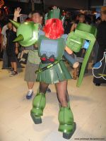 mobile Suit Girl Zaku 6 by polidread