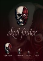 Paranoid Skull Finder by Akissi